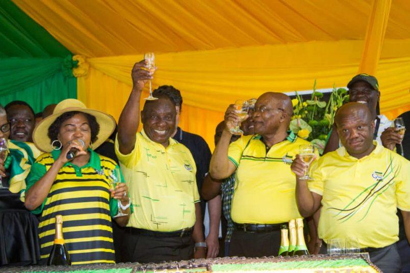 Ramaphosa, Zuma show of unity slammed by SA opposition