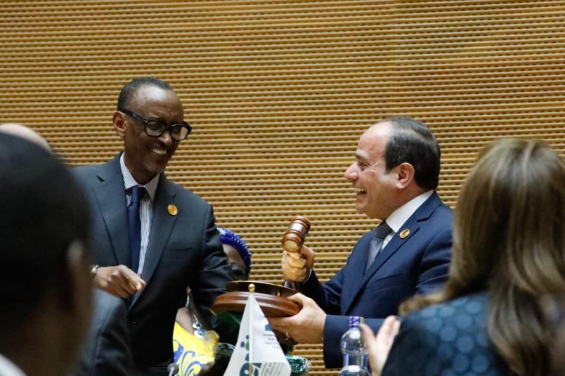 AU assembly kicks off with Egypt's Sisi replacing outgoing chair Kagame