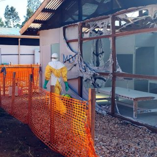 Second attack in a week destroys Ebola treatment center