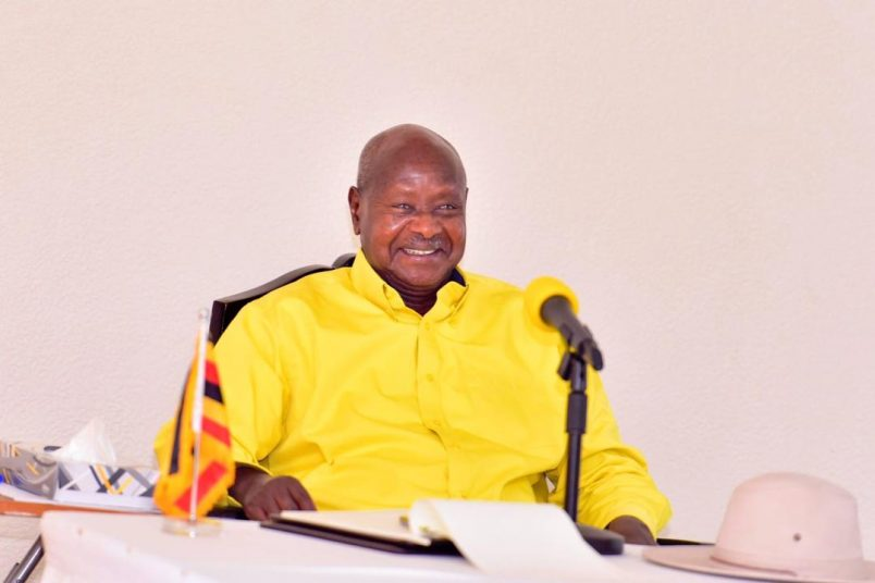 Uganda's ruling party backs Museveni for another term