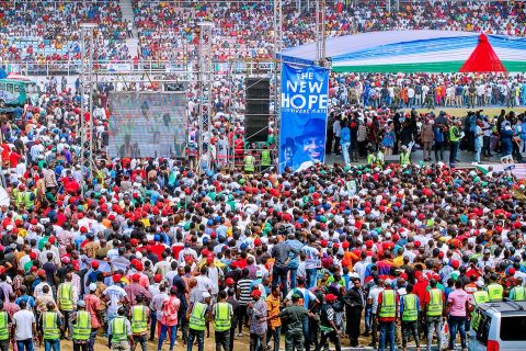 Nigeria: At least 14 reported dead in Buhari rally stampede