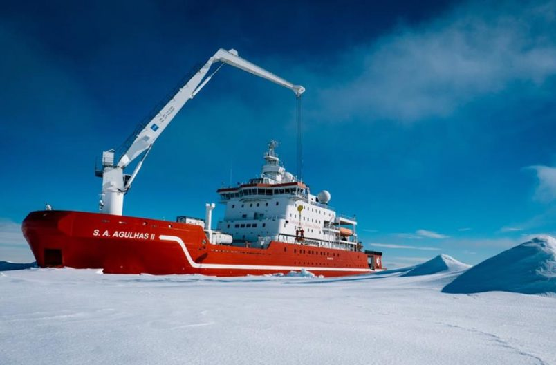 SA's Agulhas II and Weddell Expedition reach Shackleton shipwreck site