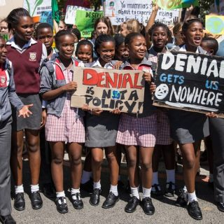 Amnesty head urges global leaders to allow student climate marches