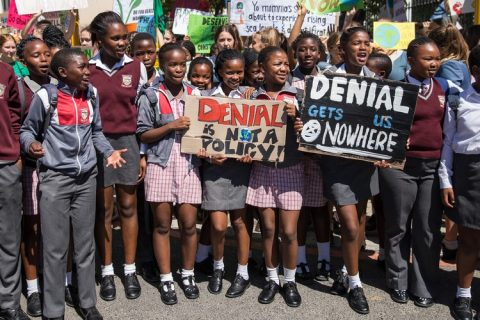 Young Africans march in school strike to demand climate action