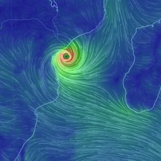 Flooded Mozambique coast braces for Cyclone Idai landfall