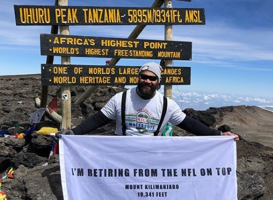 NFL player Ngata retires 'on top' from Mt. Kilimanjaro
