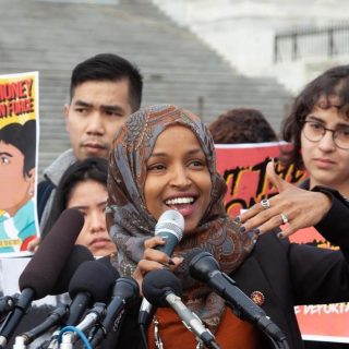Latest Ilhan Omar attack questions wearing hijab and 'sharia law'
