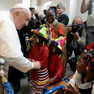 In Morocco, Pope Francis shows solidarity with migrants