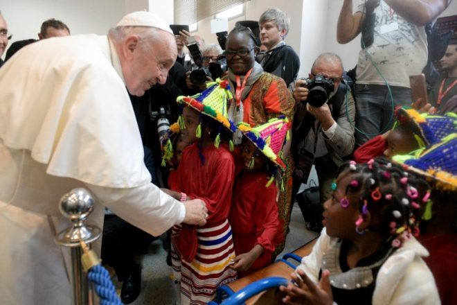 Pope Francis calls for civil unions for same-sex couples