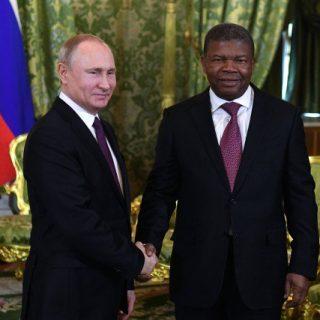 Angola's Lourenço, Putin meet in Moscow