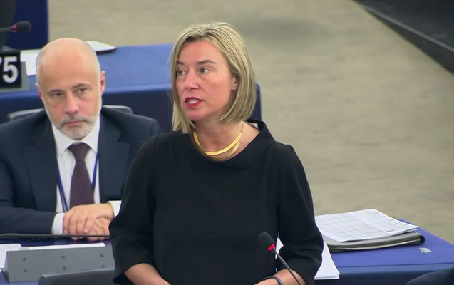 On Cameroon, EU's Mogherini urges humanitarian and human rights action