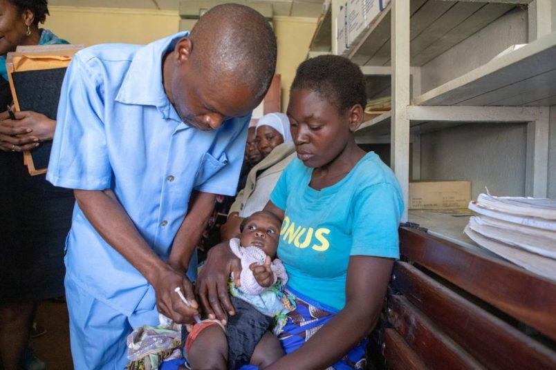 Children's malaria vaccine program launches in Malawi