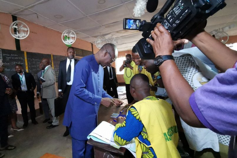 Internet access down, low voter turnout in Benin
