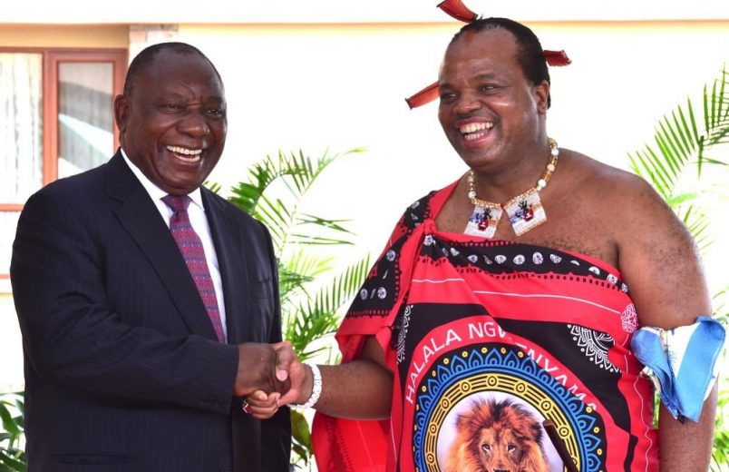 Eswatini wants proof that missing Gaddafi millions are with King Mswati III
