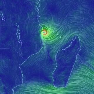 Kenneth aims at Mozambique; storm fatalities in Comoros