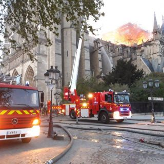 African leaders express sorrow over Notre Dame fire disaster