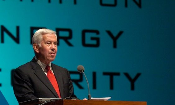 Foreign policy expert, anti-apartheid champion Lugar dies in U.S.