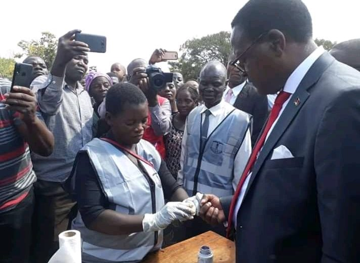 Malawi waits for presidential election results