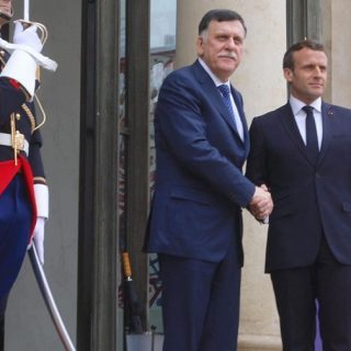 Macron assures Sarraj of France's support for GNA, UN process in Libya