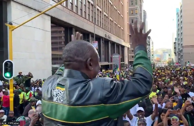 ANC celebrates election win as Ramaphosa promises a fresh start