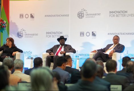Kenyatta, Kiir join forces on the future of African cities