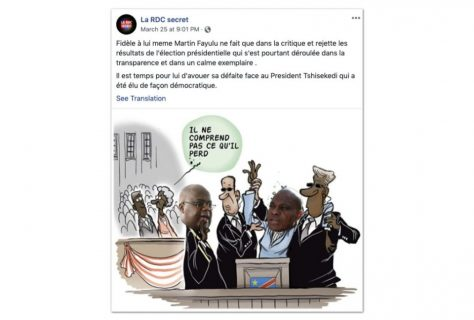 Facebook bans 265 accounts used to manipulate African politics