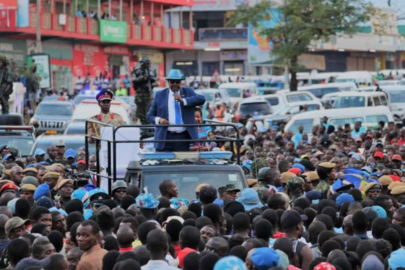 Mutharika wins Malawi presidential election