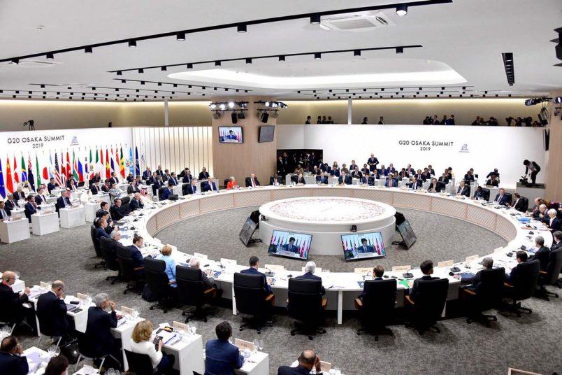 Ramaphosa attends G20 summit in Japan