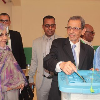 Mauritania awaits election results with Ghazouani in early lead