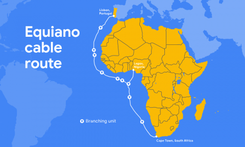 Google launches Equiano, an undersea cable system serving Africa