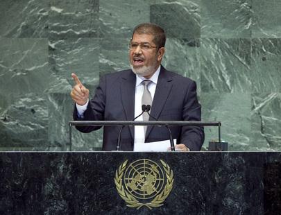 Rights group blames Egypt, demands probe into Morsi death