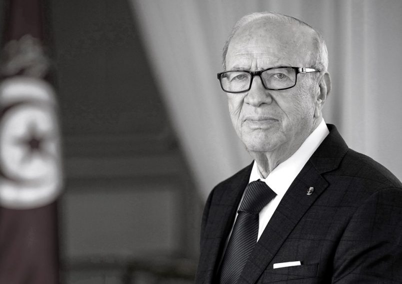Tunisia`s President Beji Caid Essebsi dies at 92