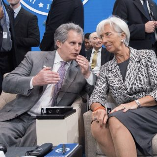 Who's running the IMF as Lagarde steps away?