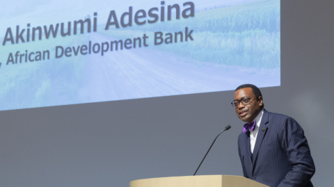 AfDB's Adesina delivers keynote at TICAD7 session in Japan