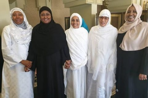 African first ladies join 2 million Muslims as hajj begins in Saudi Arabia