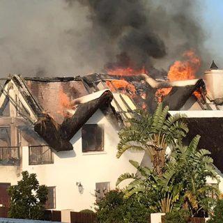 SA blaze claims a dozen homes in resort town