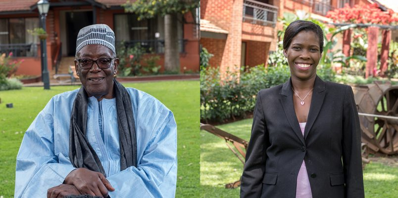 Two scientist-farmers share African Food Prize