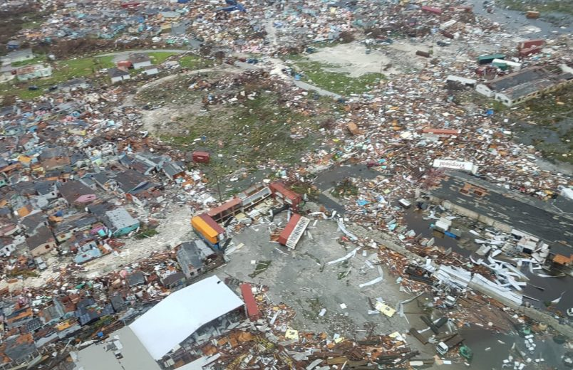Official: Bahamas storm damage more like a tsunami disaster
