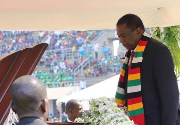 Mugabe funeral held in Harare