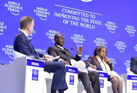 Museveni promotes African unity at WEF meeting in Cape Town