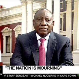 Ramaphosa appeals for calm in address to nation