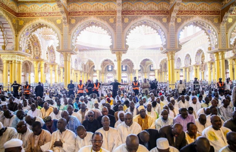 Sall on hand to open Senegal's new mosque