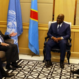 UN chief ends DR Congo trip with assurances on security front
