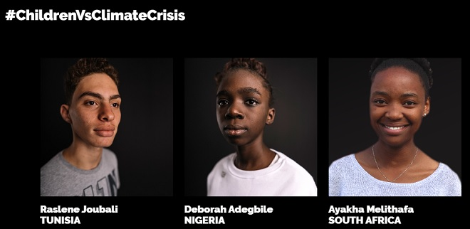 Three African youth join Thunberg in climate-action legal filing