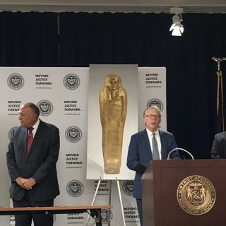 U.S. returns museum antiquities find to Egypt