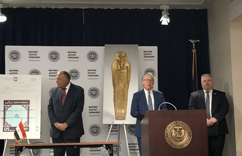 U.S. returns museum antiquities find to Egypt