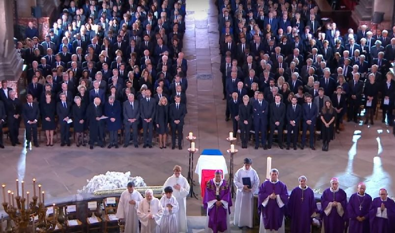 World leaders attend Chirac funeral in Paris
