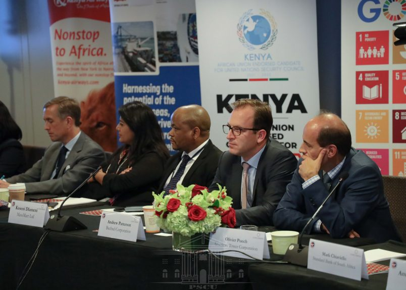 Kenyatta makes his pitch for U.S. business investment