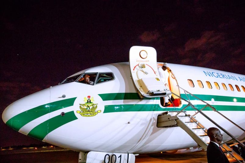 Buhari in South Africa for three-day state visit