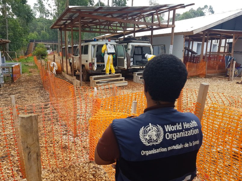 Ebola workers attacked in area of new DR Congo cases